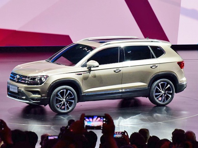 Berita, Volkswagen Powerful Family SUV sisi samping: Volkswagen Powerful Family SUV Diperkenalkan di China
