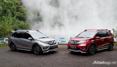 Jajal Jakarta Garut Honda BR V Cetak 146 Km L