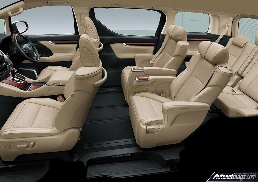 Interior Toyota Alphard Facelift 2018 Autonetmagz Review Mobil Dan Motor Baru Indonesia