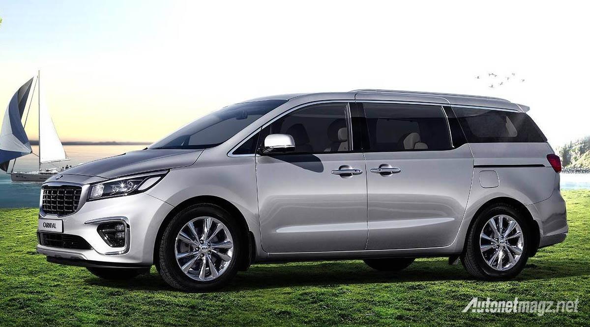 Kia Grand Sedona Facelift 2018 Side
