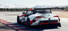 toyota gr supra racing concept 2018 side