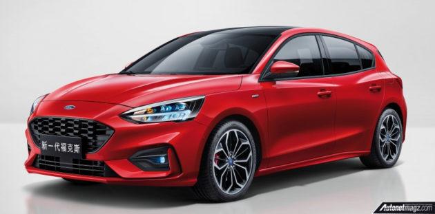 New Ford Focus >> Ford Focus Mk4 2019 Dirilis Pakai Transmisi 8 Percepatan