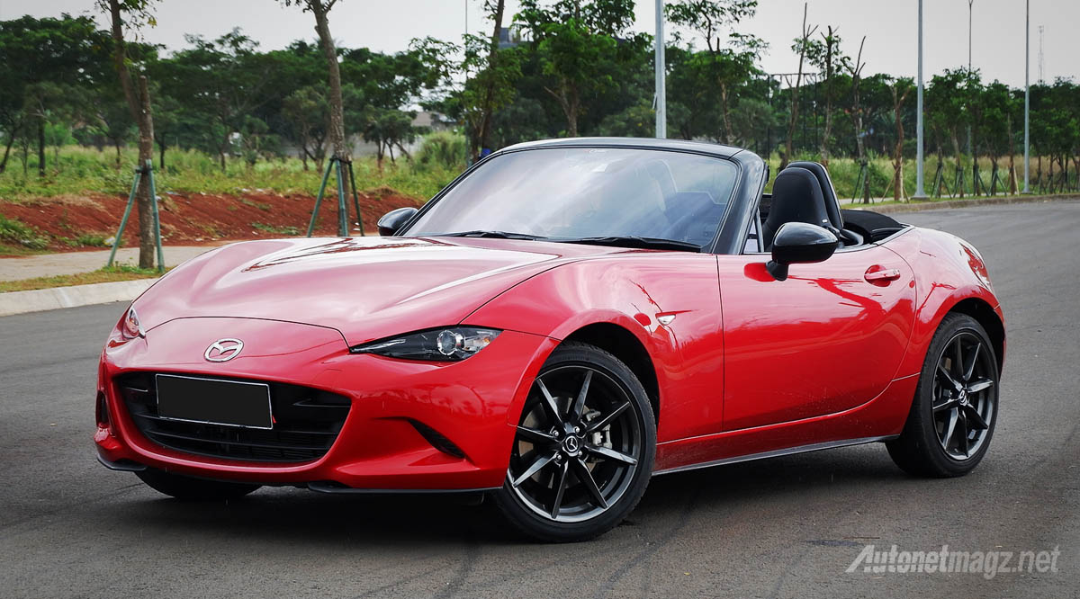International, harga mazda mx-5 indonesia 2018: Mazda MX-5 Segera Disegarkan : Power 181 HP, Tambah SCBS dan Kamera Mundur