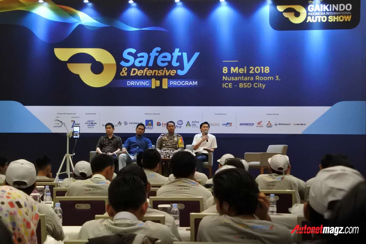 Nasional, Stefanus-Sutomo-Staff-ahli-GAIKINDO-program-GIIAS-2018-Safety-&-Defensive-Driving: GIIAS 2018 Ajak 200 Orang Ikuti Program Safety & Defensive Driving