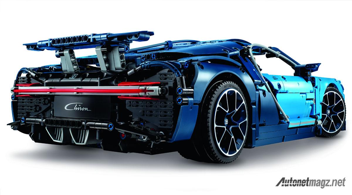 Bugatti Chiron Lego Technic Rear Autonetmagz Review Mobil Dan