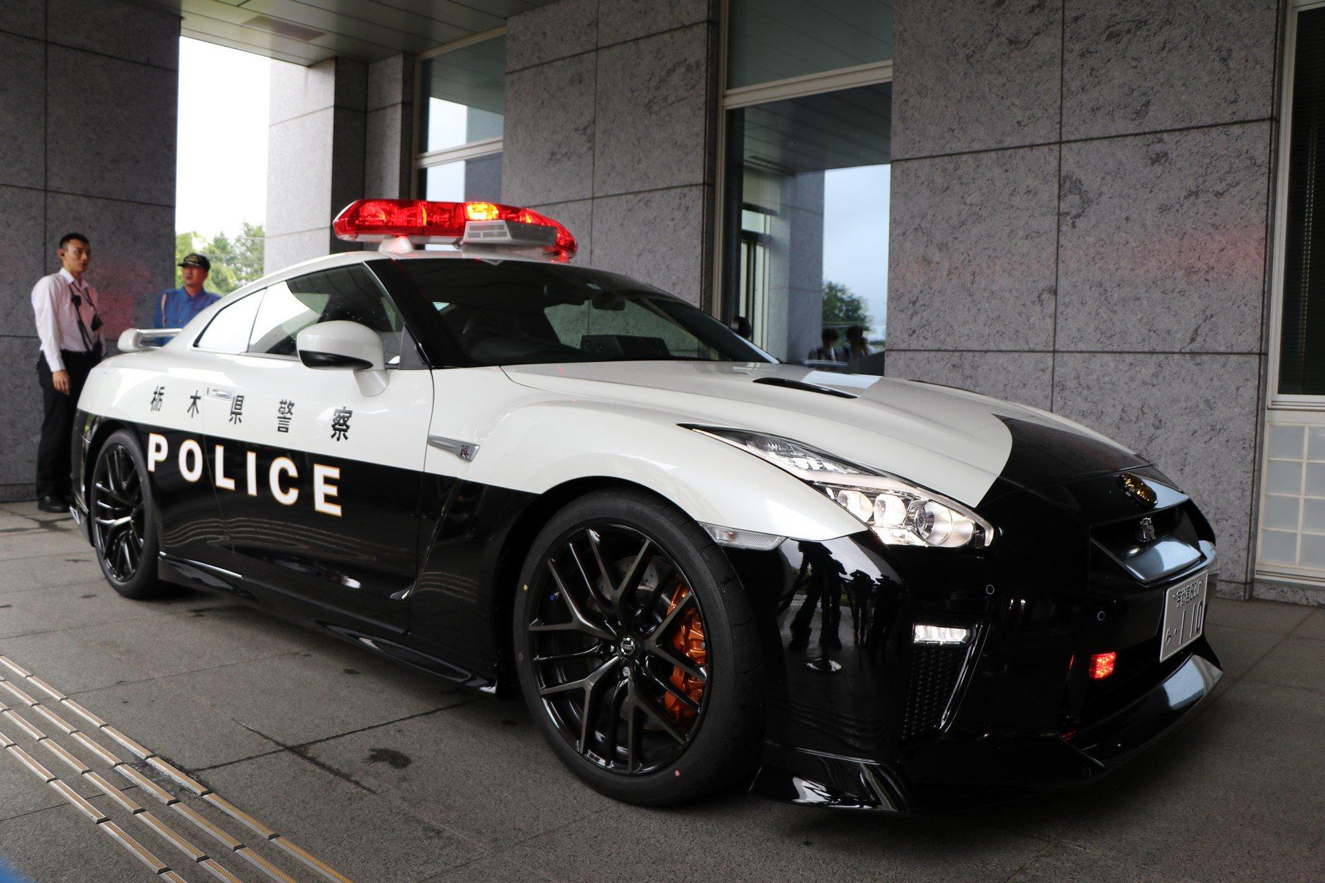 Kepolisian Tochigi Resmi Pakai Nissan GT-R, Gokil ...