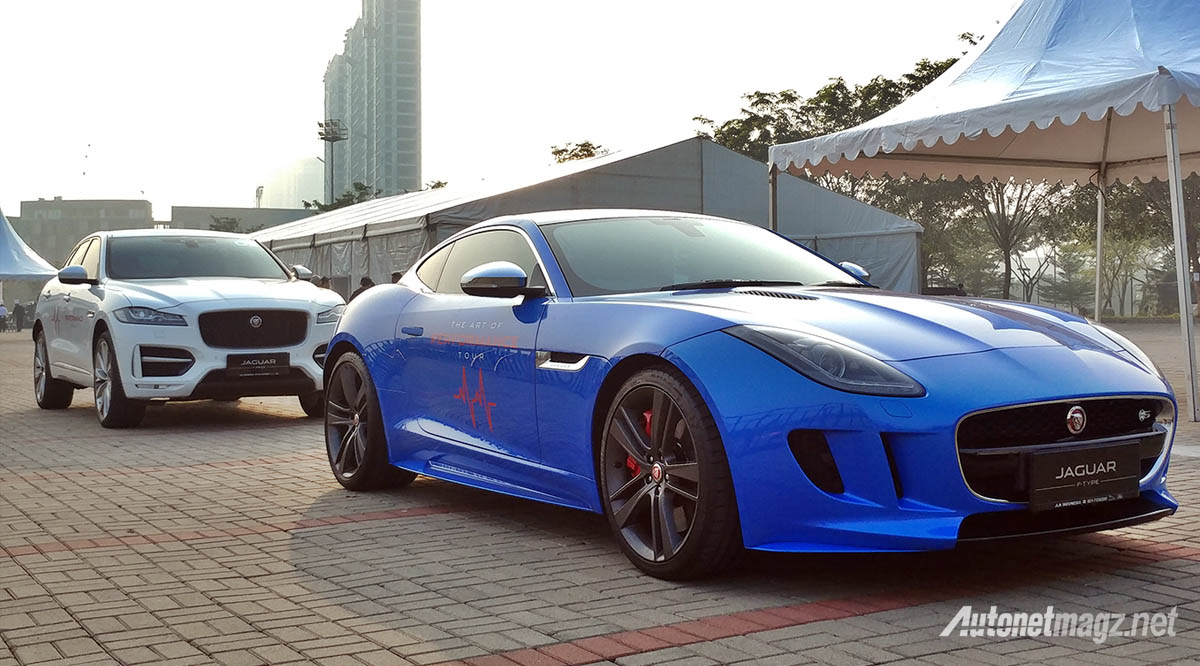 Event, jaguar f-type dan f-pace indonesia: Jaguar Land Rover Global Driving Experience : Pertama di Indonesia