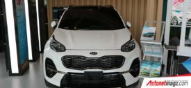 Wireless charger KIA Sportage Facelift 2018 GIIAS