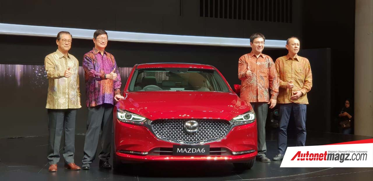 Berita, New Mazda 6 ELITE GIIAS 2018: GIIAS 2018 : Mazda Perkenalkan New Mazda CX-3 & Trim Elite Mazda 6