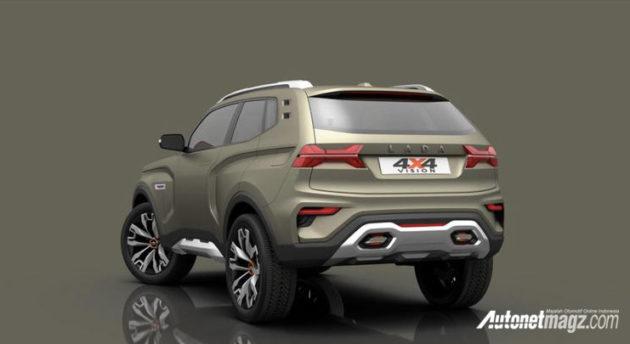 Lada 4x4 Vision Concept Masa Depan Suv Lada Autonetmagz