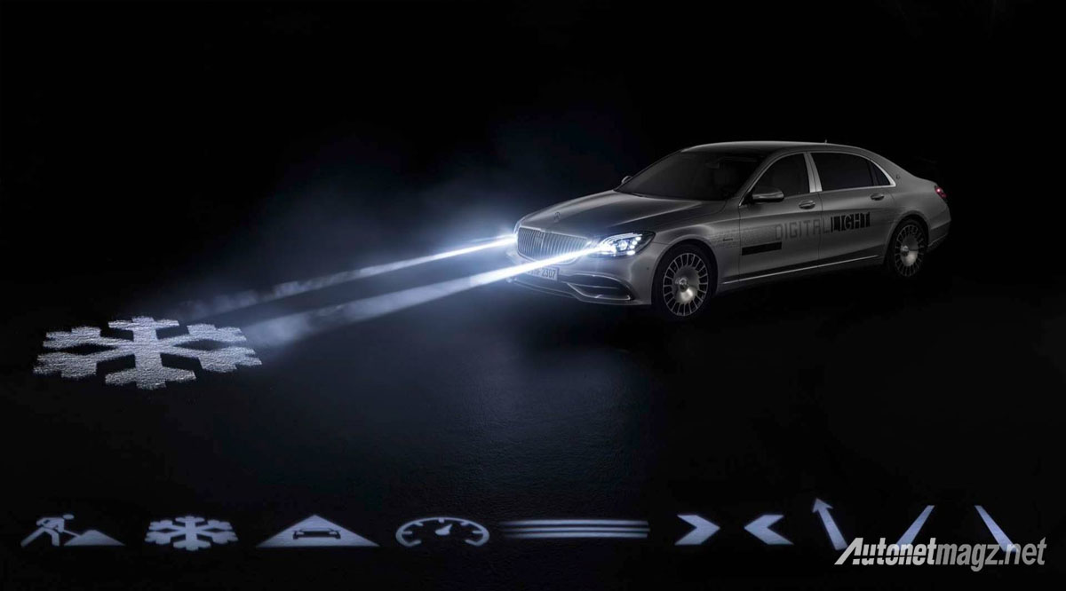 Hi-Tech, mercedes benz digital lights technology: Ngobrol Pakai Lampu Mercedes-Benz : Kata-Kata Mutiaramu Kian Bercahaya