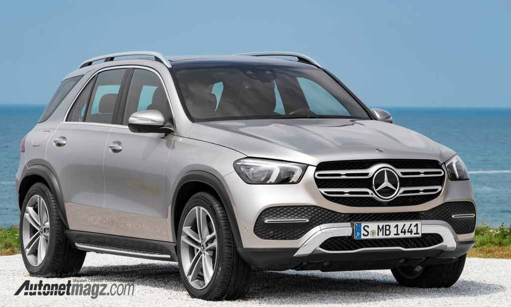 Mercedes-Benz, Mercedes-Benz-GLE-2020-front: Mercedes-Benz GLE 2020, Fully Redesigned SUV Premium Mercedes