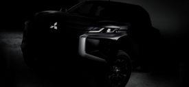 Teaser Mitsubishi L200 Strada Triton Wajah