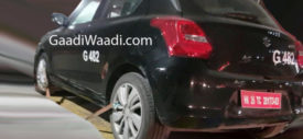 Maruti Suzuki Swift RS samping