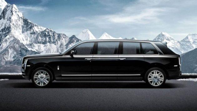 Rolls Royce Limo >> Rolls Royce Hadirkan Limousin Cullinan Anti Peluru Seharga 2