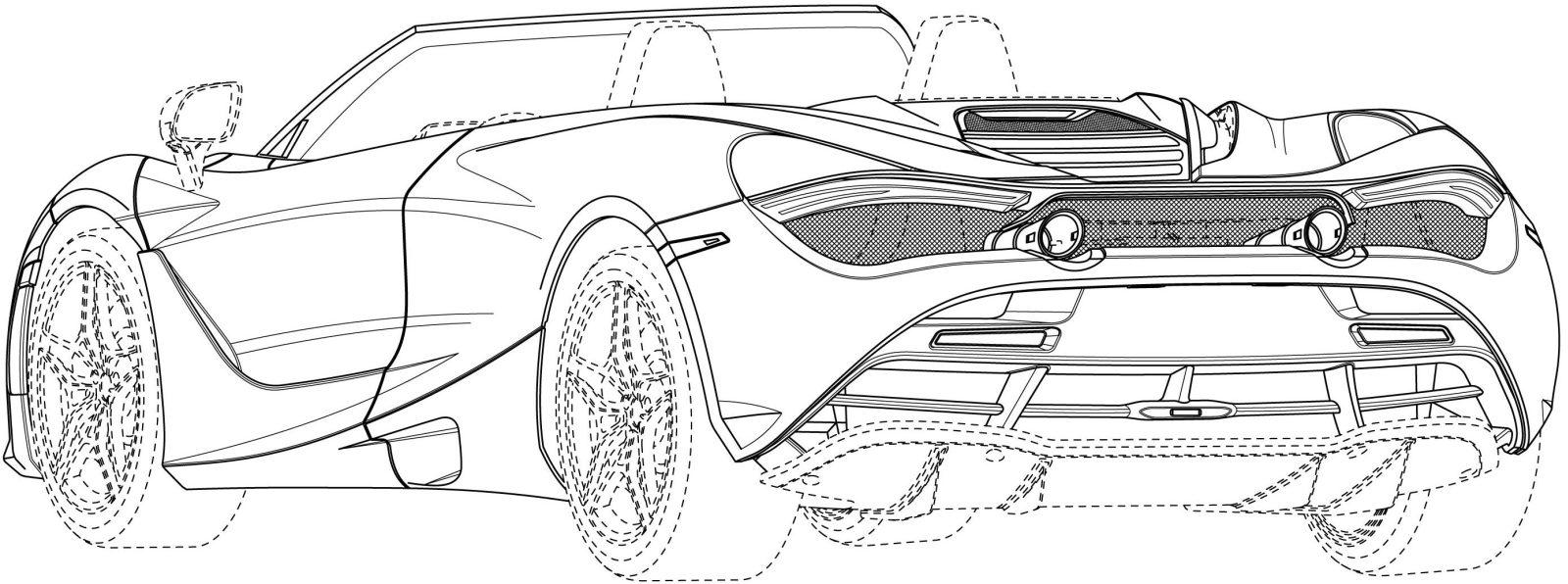 Mclaren 720s Spider Sketch Rear 2 Autonetmagz Review Mobil Dan Motor Baru Indonesia