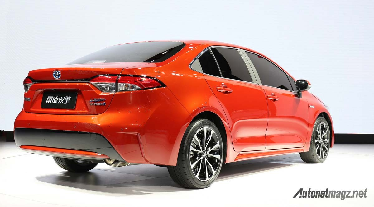 Toyota Corolla Hybrid Dan Levin Khusus China Resmi Dirilis AutonetMagz