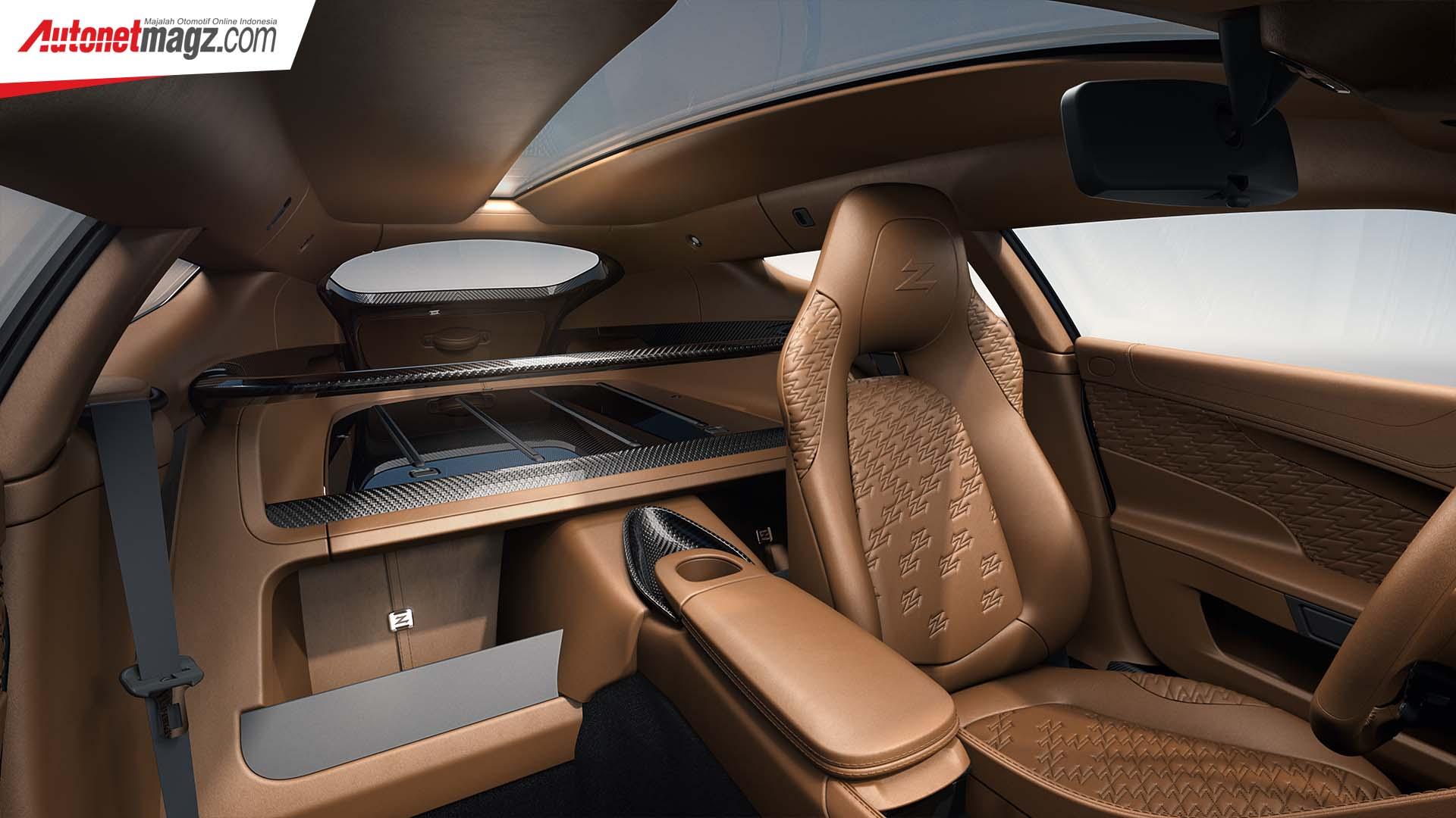 Aston Martin, Aston Martin Vanquish Zagato interior: Aston Martin Vanquish Zagato Shooting Brake, Cuma Ada 99 Unit!