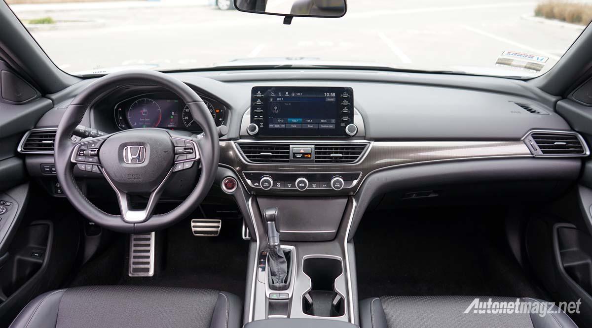 Honda Accord Turbo >> Honda Accord Turbo 2019 Interior Autonetmagz Review