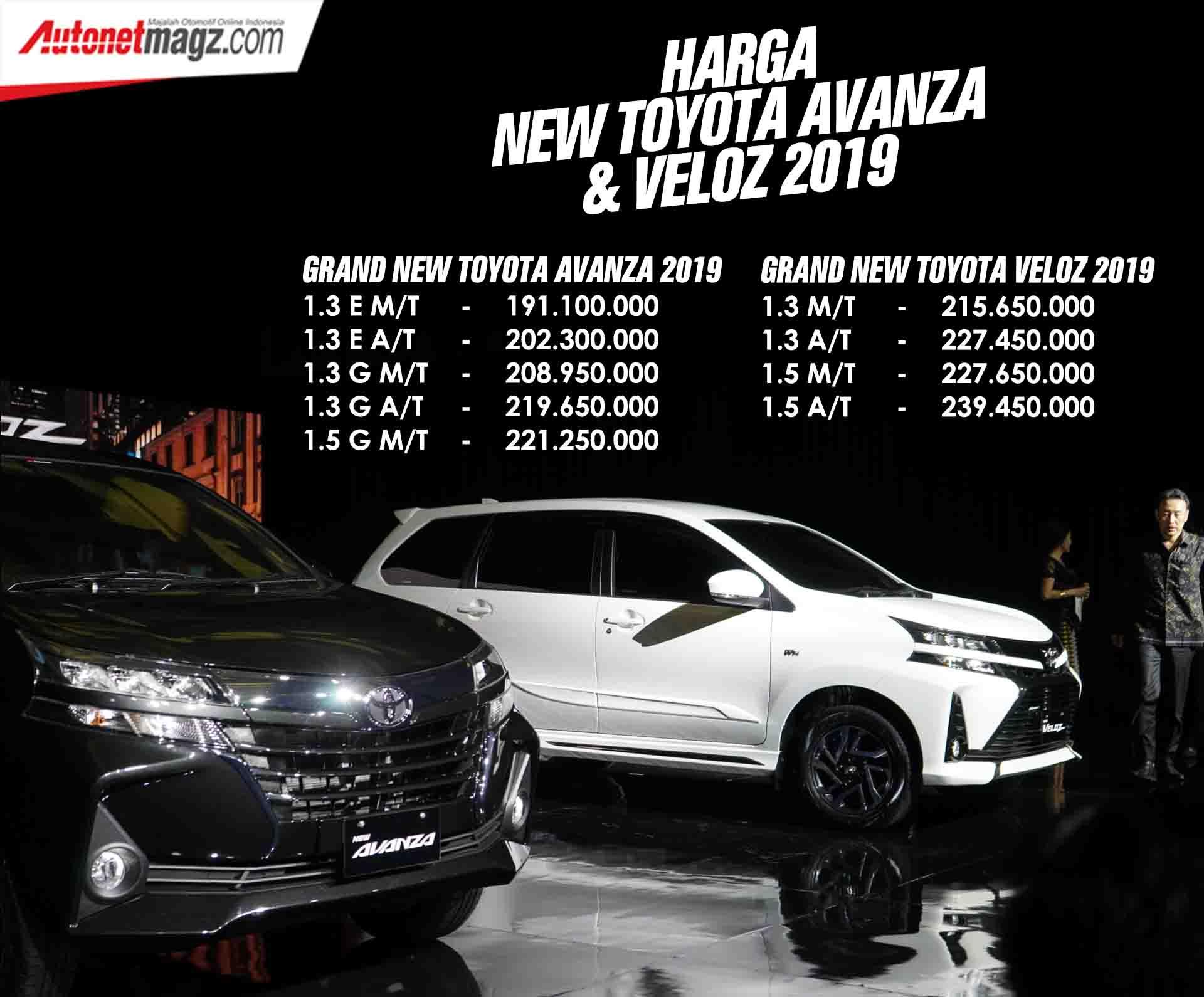Kelebihan Kekurangan Harga All New Avanza 2019 Tangguh