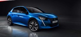All New Peugeot 208 Belakang