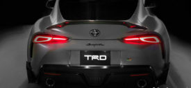 toyota supra trd performance line concept 2019 rear