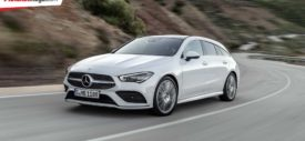 Mercedes-Benz CLA Shooting Brake 2019 samping