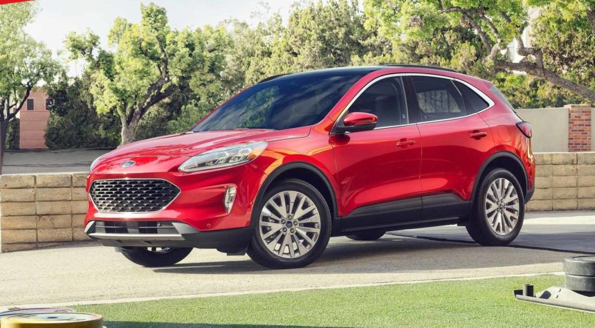 Ford Escape 2020 Ford Focus Versi Suv Dengan Mesin Hybrid Phev