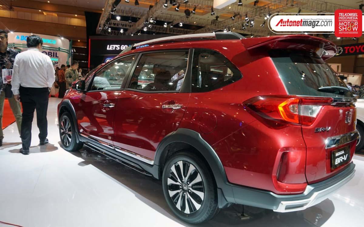 Honda Br V Facelift 2019 Belakang Autonetmagz Review Mobil Dan