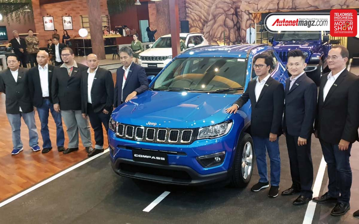 Berita, Launching All New Jeep Compass 2019: Telkomsel IIMS 2019 : HASCAR Bawa All New Jeep Wrangler & Compass!