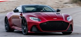 Launching Aston Martin DBS Superleggera