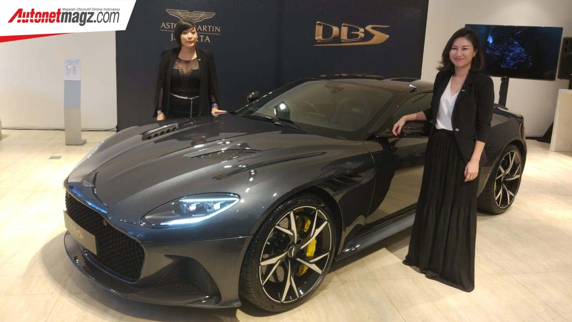 Aston Martin, Launching Aston Martin DBS Superleggera: Aston Martin DBS Superleggera Dirilis Resmi, Tenaga 725 PS!