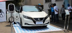 Test Drive Nissan Leaf Indonesia