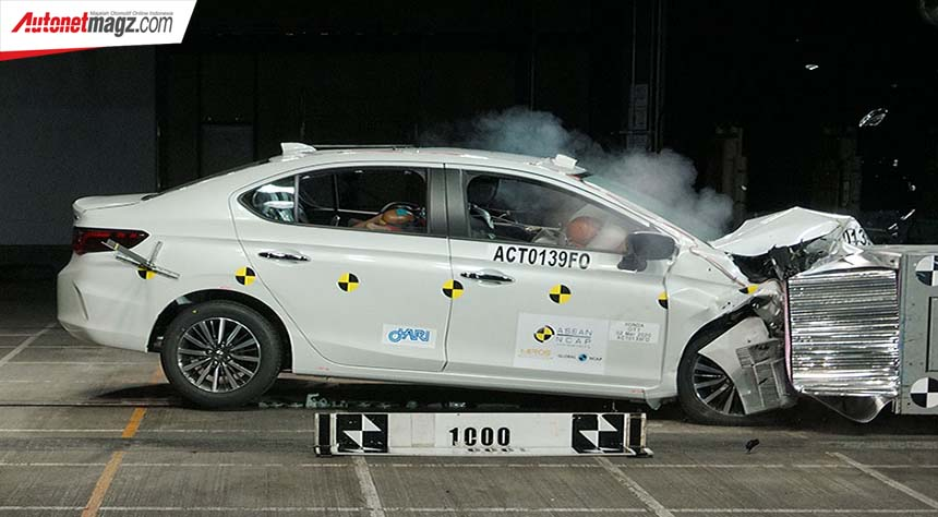 Berita, ASEAN NCAP Honda City: All New Honda City Raih Bintang 5 di ASEAN NCAP