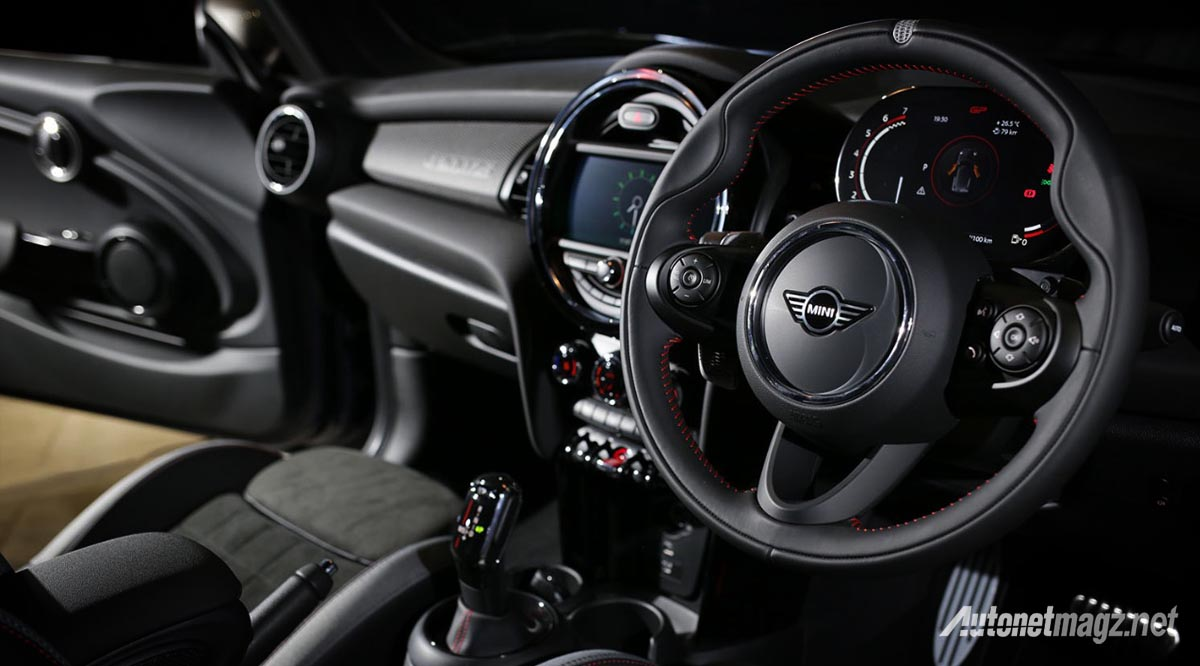 Berita, mini-john-cooper-works-gp-indonesia-interior: MINI John Cooper Works GP, Hanya 12 Unit dan Siap Direbut!