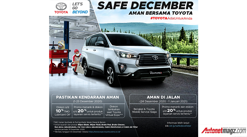 , Program Safe December Toyota: Program Safe December Toyota