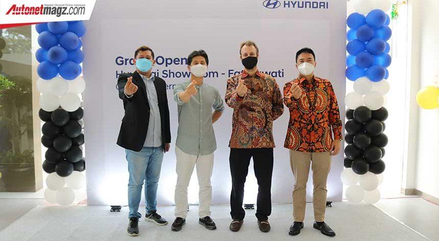 Perluas Jaringan, Hyundai Resmikan Diler Baru di Kawasan Fatmawati