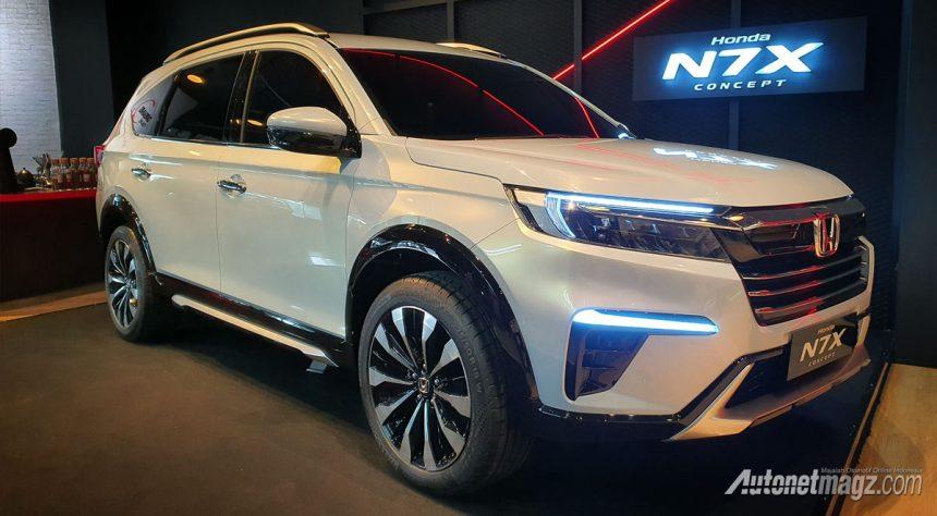 First Look Honda N7X Concept, Ekspektasi Tinggi!